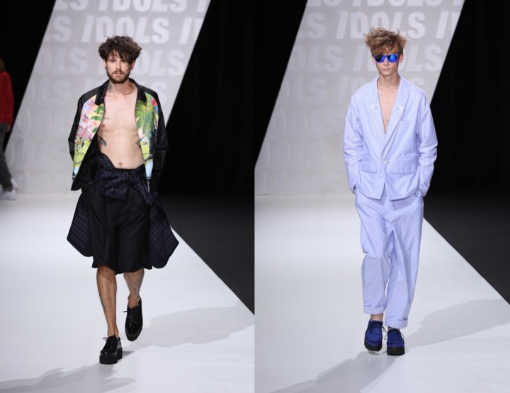 Kidill, for men S/S 15 - Mercedes-Benz Fashion Week Tokyo, March 2015