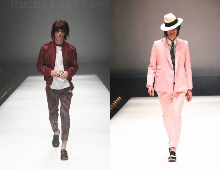 Patchy Cake Eater, für Ihn F/S 15 - Mercedes-Benz Fashion Week Tokio, März 2015