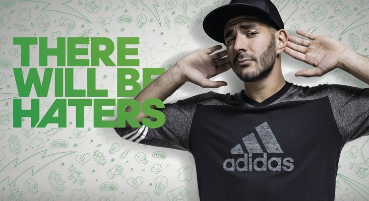 adidas is presenting the new soccer shoe collection: #ThereWillBeHaters