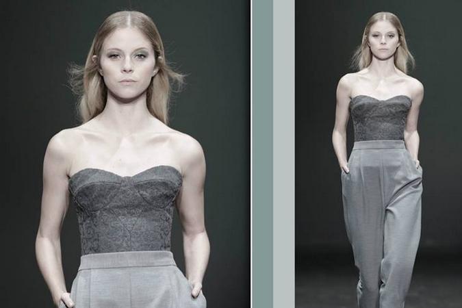 Lisboa Fashion Week, Juni 2014 präsentiert - Nuno Baltazar, für Sie - Herbst- und Winterkollektion 2014