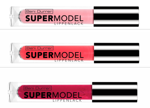 Lippen wie Kate, Naomi und Co. - Beni Durrer launcht SUPERMODEL Lippenlack Kollektion am Valentinstag!