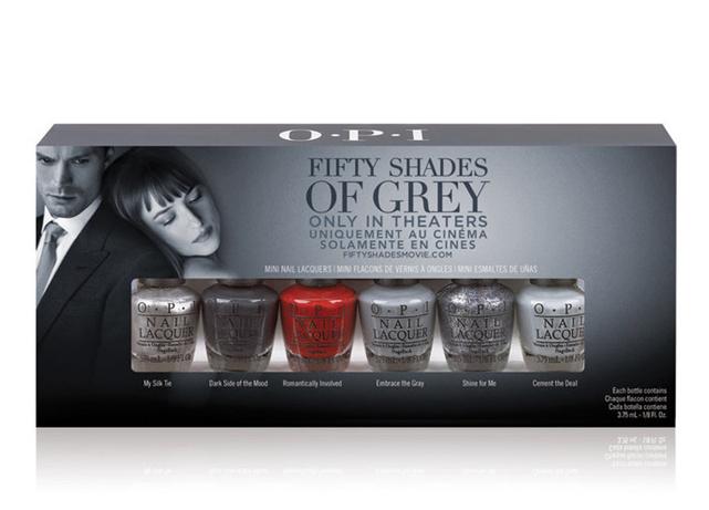 HOT or NOT | OPI x 50 Shades of Grey präsentiert Nagellacke in Grautönen und einen roten Lack!