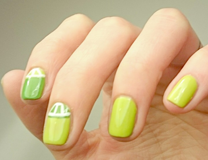 Manicure Monday | Easy Peasy Lemon Squeezy
