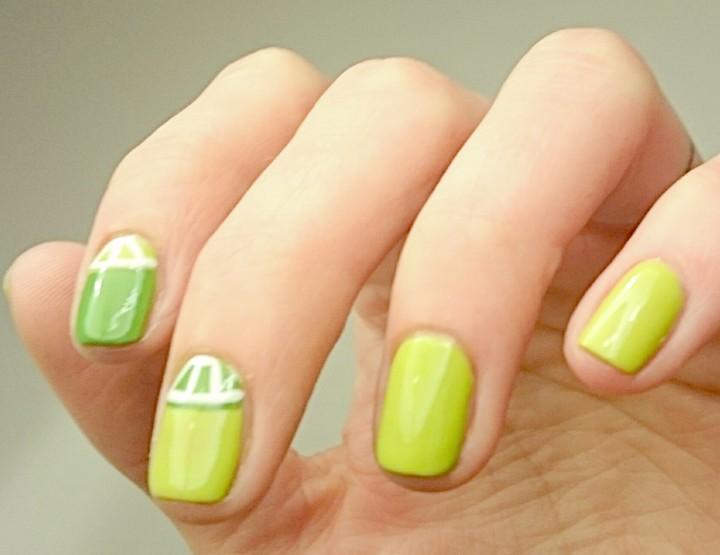 Manicure Monday | Easy Peasy Lemon Squeezy