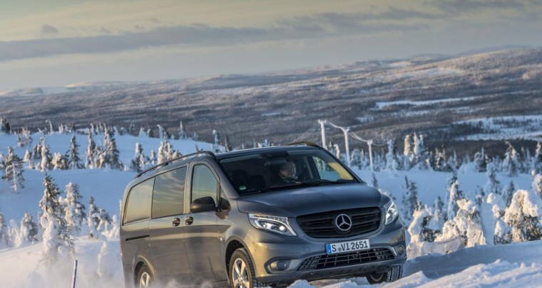 The new Mercedes-Benz Vito 4x4: a decisive traction boost for business professionals – not just in winter!