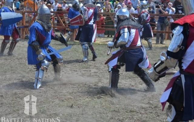 Battle of Nations - Kein Sport für Weicheier