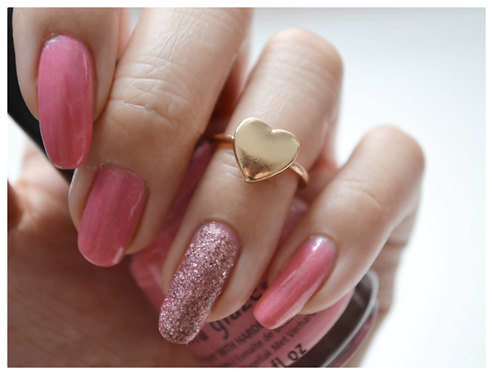 Manicure Monday | NAIL TUTORIAL #Valentinstags-Special
