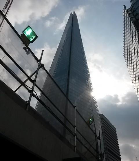 London easy going: Der Stachel an der Themse - The Shard