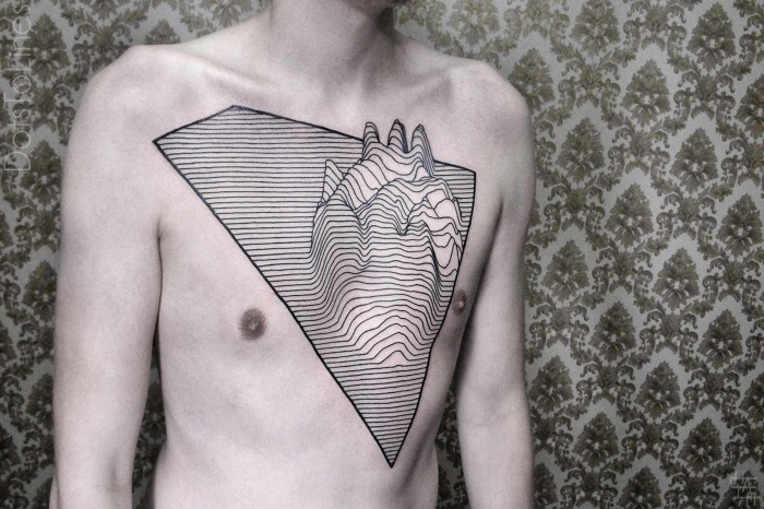 Outstanding Artists:  Chaim Machlev – Beautiful tattoos made of geometrical lines