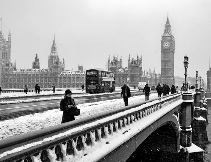 London Easy Going: Leute? Es ist Winter!