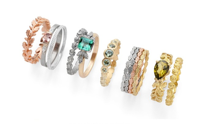 Beth Gilmour jewelery - London Fashion Week, 2015
