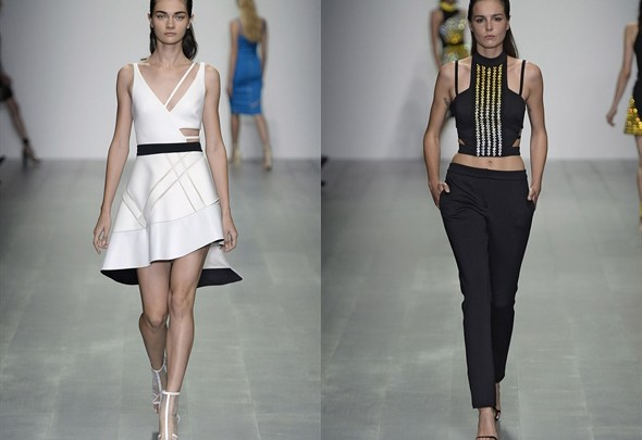 Fashion News - David Koma, für Sie - London Fashion Week 2015