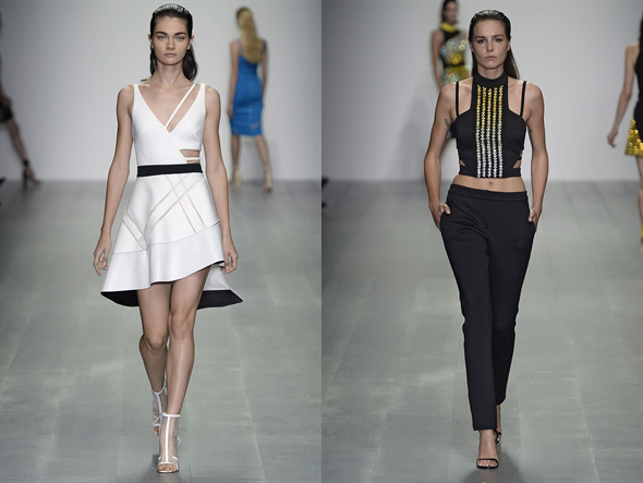 Fashion News - David Koma, für Sie - London Fashion Week 2015
