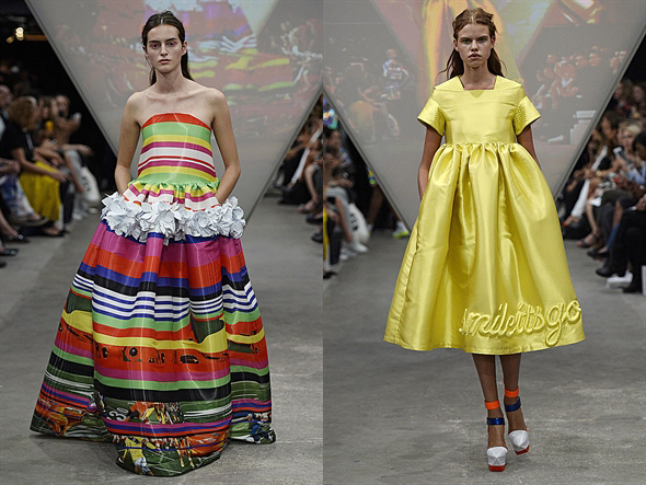 Fyodor Golan, für Sie – F/S 15 – London Fashion Week, Februar 2015