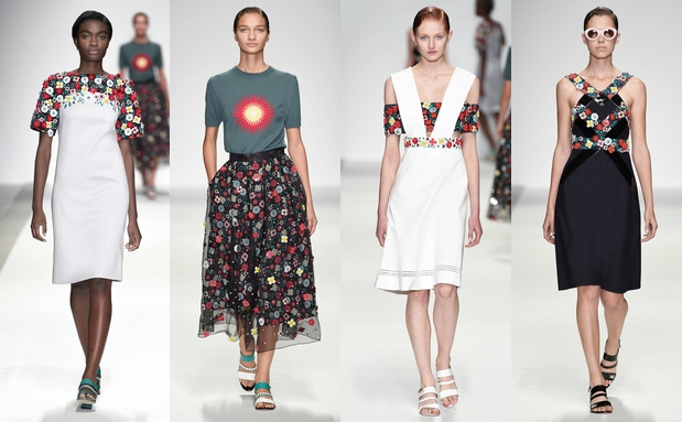 Holly Fulton, für Sie – F/S 15 – London Fashion Week, Februar 2015