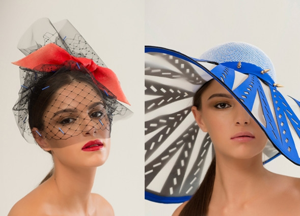 Awon Golding Millinery, für Sie - F/S 15 Headhunter - London Fashion Week, 2015