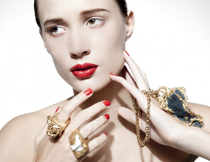 Imogen Belfield, für Sie – London Fashion Week, Februar 2015