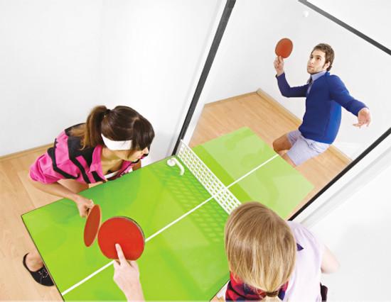 Unser Einrichtungstipp: Stylische Tischtennis-Türen