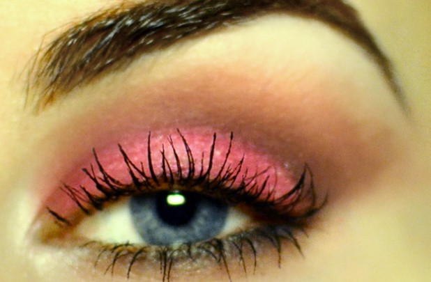 Styling- und Beauty-Tipp Berlin | Pink Cut Crease Party Look