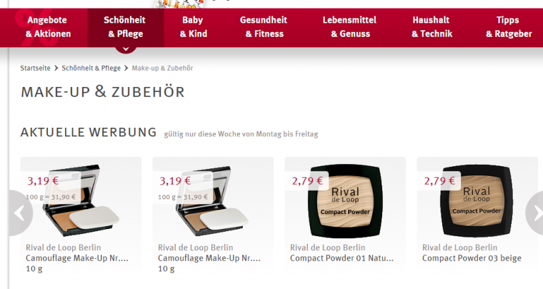Beauty on a Budget |Great deals on the makeup aisle at Rossmann