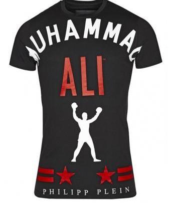 Menswear: Philipp Plein T-Shirt mit Muhammad Ali Print