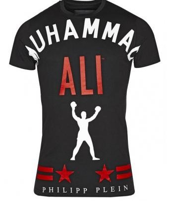 Abbigliamento maschile: T-Shirt Philipp Plein cù Stampa Muhammad Ali