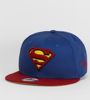 Menswear: New Era Snapback-Cap 'Superman bluered'