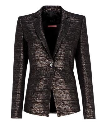 Sexy-eleganter Metallic Blazer
