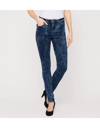 Skinny Jeans mit Acid Wash