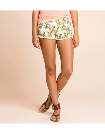Beach Style: Raw Edge Shorts