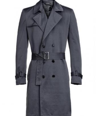Menswear: Zeitloser Calvin Klein Trenchcoat