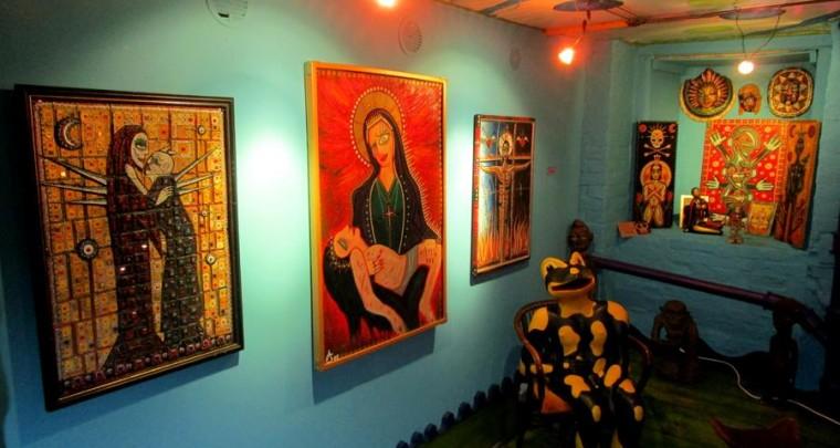 Fookuses olev kunst: kunstinäitus - ArtOrta pulmas Milchmeergaleries