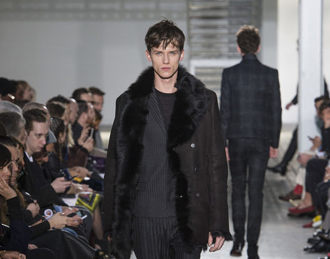 Fashion News 2015: Belgrade Fashion Week, April 2015 - Costume National, for men - (Pre-)Fall '15
