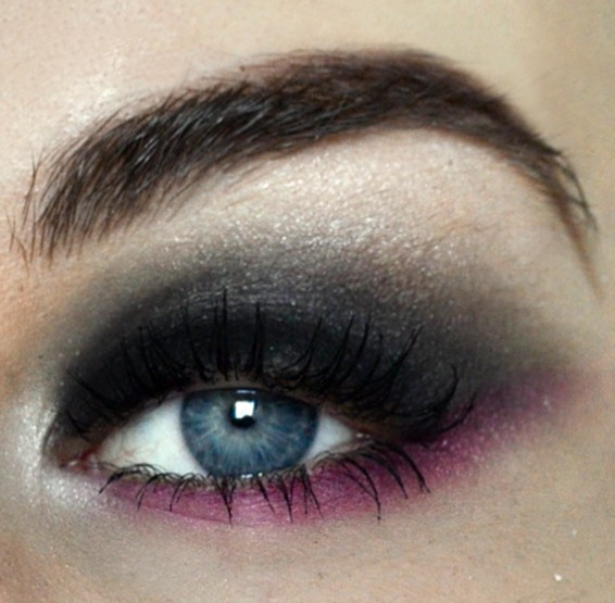 Styling- und Beauty-Tipp Berlin | Pink and Black Smokey Eye