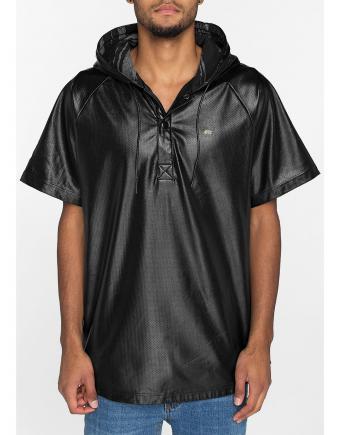 Menswear: Street Style mit Kunstleder-Shirt by Rocksmith