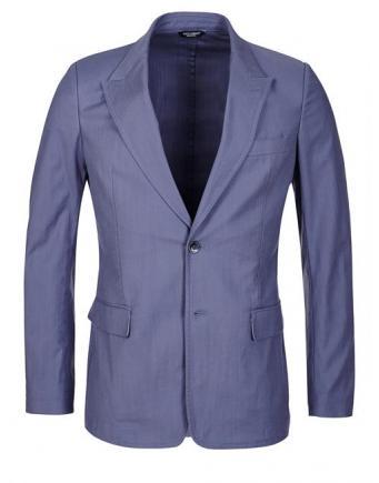 Abbigliamento maschile: giacca Dolce & Gabbana in blu fumo