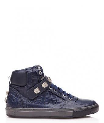 Menswear: Sneaker Krokodilprägung by Roberto Cavalli