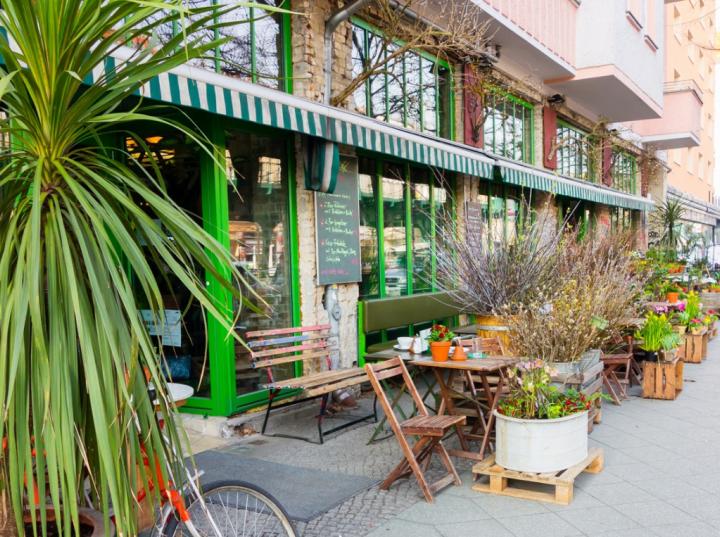 Bar- und Restauranttipp Berlin: Blumengeschäft und Café in einem - Das
