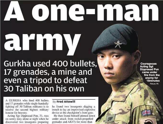 Fight Club Friday: Teil 48 - Gurkhas - Die Spartiaten Asiens