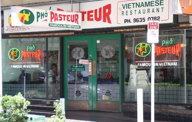 The Sydney Tour – Restaurant Check – Phó Pasteur