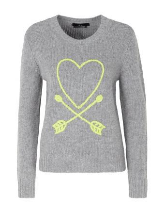 Langarm Shirt mit Heart & Dart Motiv