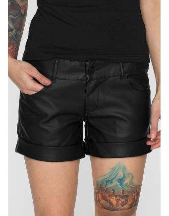 Sexy Leather Shorts by Urban Classics