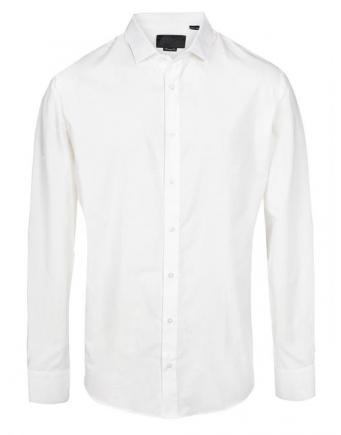 Menswear: Classical Shirt in White by Philipp Plein