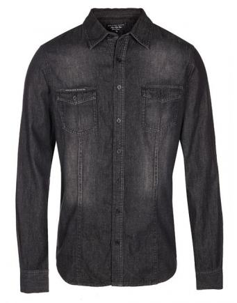 Menswear: Jeanshemd dark by Philipp Plein