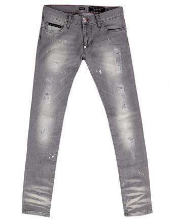 Menswear: Jeans grey by Philipp Plein