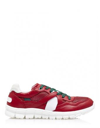 New Trainers in Rot/Weiß by Dolce & Gabbana