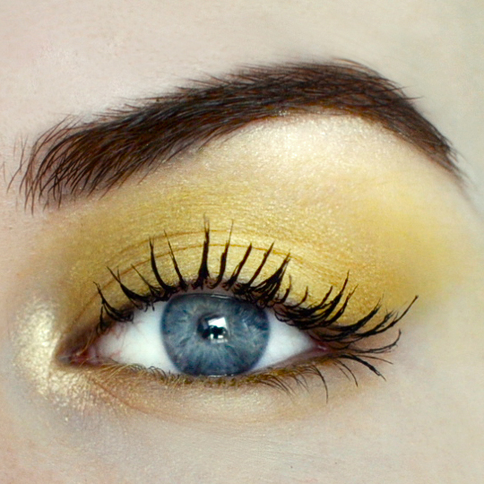 Styling- und Beauty-Tipp Berlin | Yellow Smokey Eye