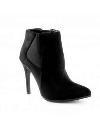 (Deutsch) Black & wild - Ankle Boots by Jumex