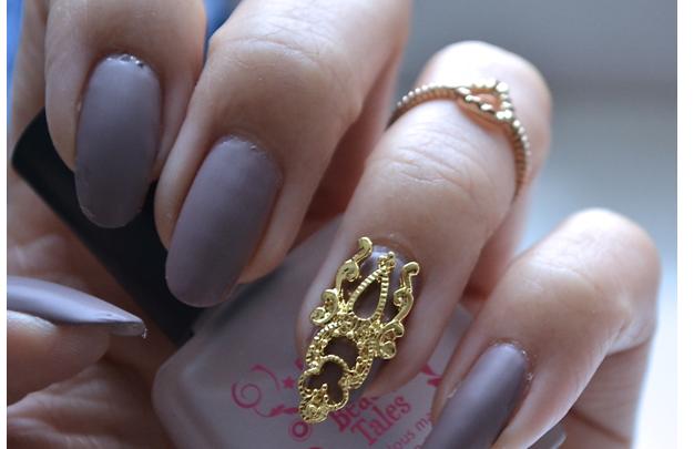 Manicura luni | NAIL TUTORIAL # Unghie stile baroccu elegante