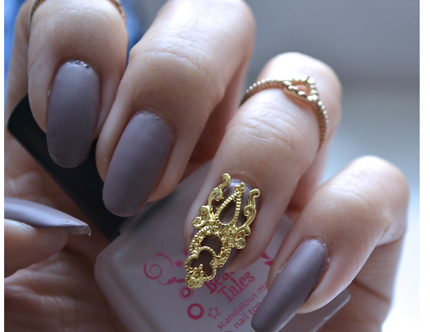 Manicure Monday |NAIL TUTORIAL #Elegant Baroque Nails